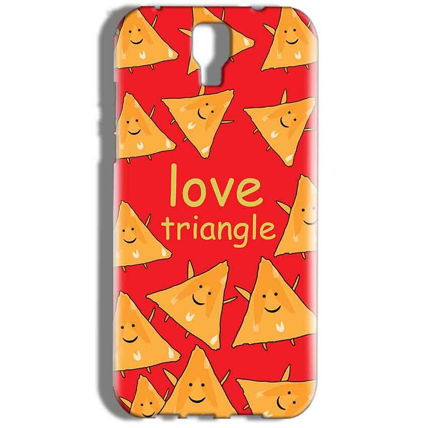 Micromax Canvas Amaze 2 E457 Mobile Covers Cases Love Triangle - Lowest Price - Paybydaddy.com