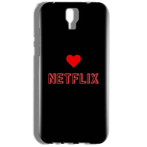 Micromax Canvas Amaze 2 E457 Mobile Covers Cases NETFLIX WITH HEART - Lowest Price - Paybydaddy.com