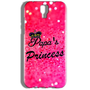 Micromax Canvas Amaze 2 E457 Mobile Covers Cases PAPA PRINCESS - Lowest Price - Paybydaddy.com