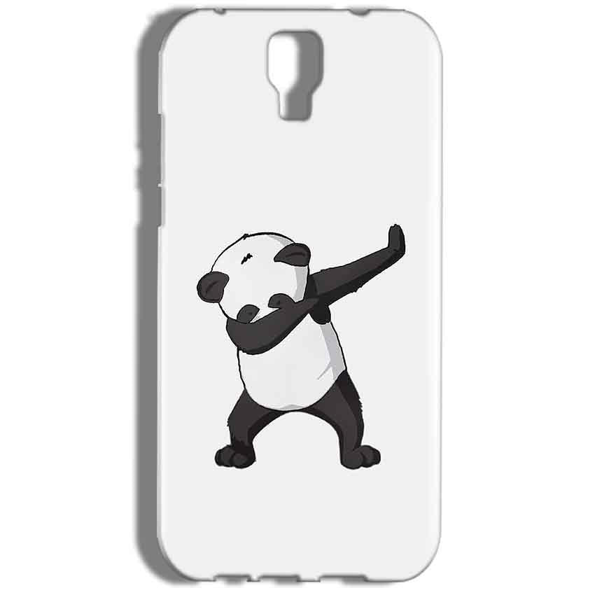Micromax Canvas Amaze 2 E457 Mobile Covers Cases Panda Dab - Lowest Price - Paybydaddy.com
