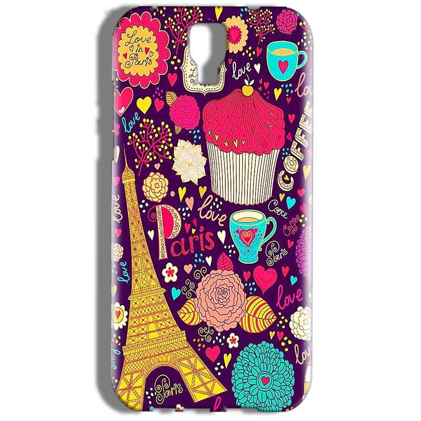 Micromax Canvas Amaze 2 E457 Mobile Covers Cases Paris Sweet love - Lowest Price - Paybydaddy.com