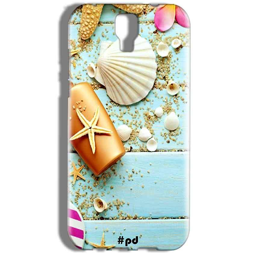 Micromax Canvas Amaze 2 E457 Mobile Covers Cases Pearl Star Fish - Lowest Price - Paybydaddy.com
