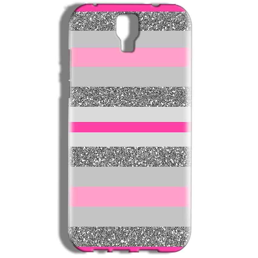 Micromax Canvas Amaze 2 E457 Mobile Covers Cases Pink colour pattern - Lowest Price - Paybydaddy.com