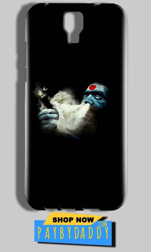 Micromax Canvas Amaze 2 E457 Mobile Covers Cases Shiva Aghori Smoking - Lowest Price - Paybydaddy.com