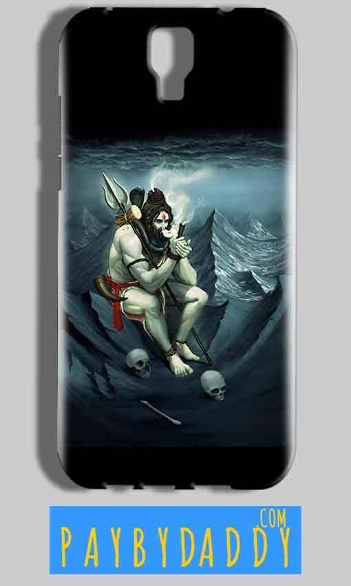 Micromax Canvas Amaze 2 E457 Mobile Covers Cases Shiva Smoking - Lowest Price - Paybydaddy.com