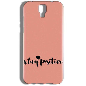 Micromax Canvas Amaze 2 E457 Mobile Covers Cases Stay Positive - Lowest Price - Paybydaddy.com