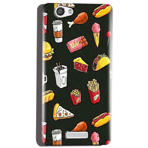 Micromax Canvas Hue 2 A316 Mobile Covers Cases Foodie Design - Lowest Price - Paybydaddy.com