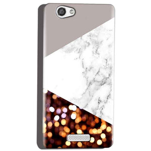 Micromax Canvas Hue 2 A316 Mobile Covers Cases MARBEL GLITTER - Lowest Price - Paybydaddy.com