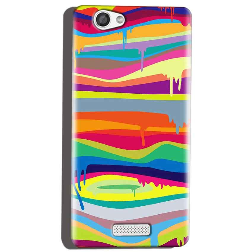 Micromax Canvas Hue 2 A316 Mobile Covers Cases Melted colours - Lowest Price - Paybydaddy.com