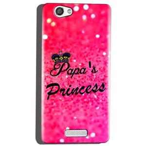 Micromax Canvas Hue 2 A316 Mobile Covers Cases PAPA PRINCESS - Lowest Price - Paybydaddy.com