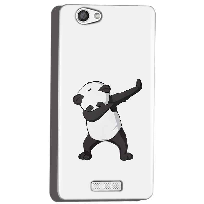 Micromax Canvas Hue 2 A316 Mobile Covers Cases Panda Dab - Lowest Price - Paybydaddy.com