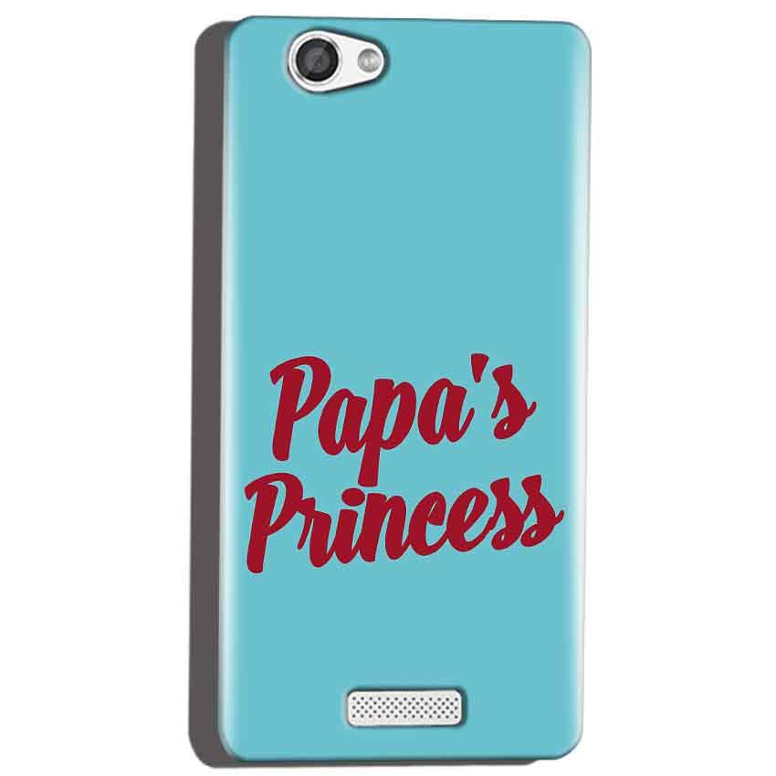 Micromax Canvas Hue 2 A316 Mobile Covers Cases Papas Princess - Lowest Price - Paybydaddy.com