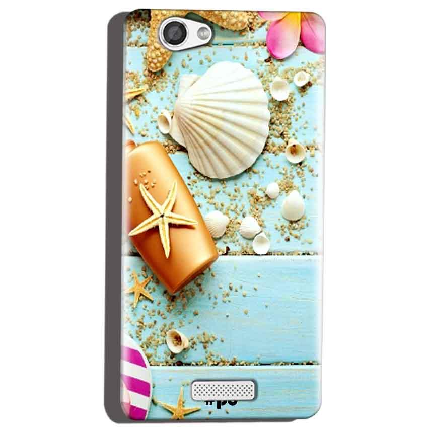 Micromax Canvas Hue 2 A316 Mobile Covers Cases Pearl Star Fish - Lowest Price - Paybydaddy.com