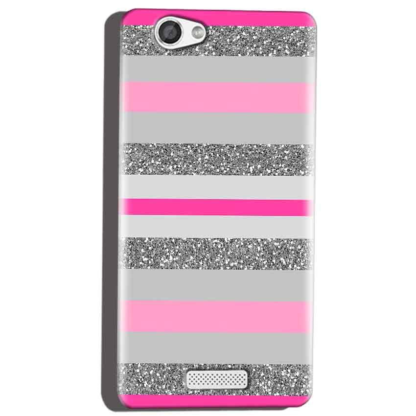 Micromax Canvas Hue 2 A316 Mobile Covers Cases Pink colour pattern - Lowest Price - Paybydaddy.com