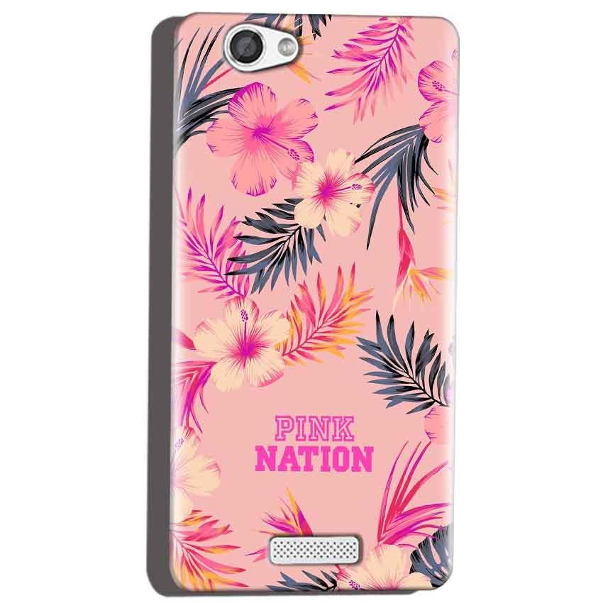 Micromax Canvas Hue 2 A316 Mobile Covers Cases Pink nation - Lowest Price - Paybydaddy.com