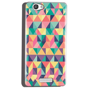 Micromax Canvas Hue 2 A316 Mobile Covers Cases Prisma coloured design - Lowest Price - Paybydaddy.com