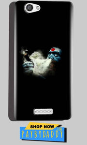 Micromax Canvas Hue 2 A316 Mobile Covers Cases Shiva Aghori Smoking - Lowest Price - Paybydaddy.com