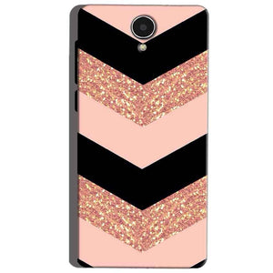 Micromax Canvas Mega 4g Q417 Mobile Covers Cases Black down arrow Pattern - Lowest Price - Paybydaddy.com