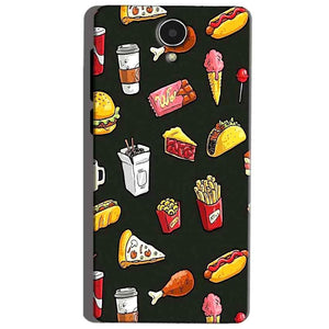 Micromax Canvas Mega 4g Q417 Mobile Covers Cases Foodie Design - Lowest Price - Paybydaddy.com
