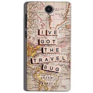 Micromax Canvas Mega 4g Q417 Mobile Covers Cases Live Travel Bug - Lowest Price - Paybydaddy.com