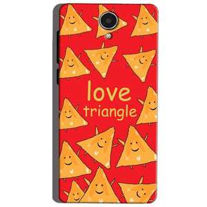 Micromax Canvas Mega 4g Q417 Mobile Covers Cases Love Triangle - Lowest Price - Paybydaddy.com