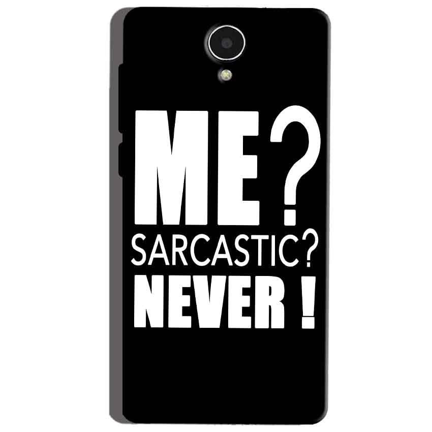 Micromax Canvas Mega 4g Q417 Mobile Covers Cases Me sarcastic - Lowest Price - Paybydaddy.com