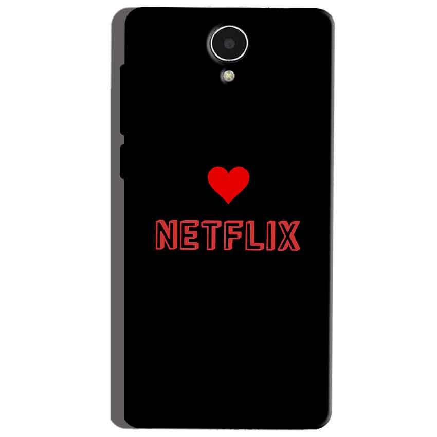 Micromax Canvas Mega 4g Q417 Mobile Covers Cases NETFLIX WITH HEART - Lowest Price - Paybydaddy.com
