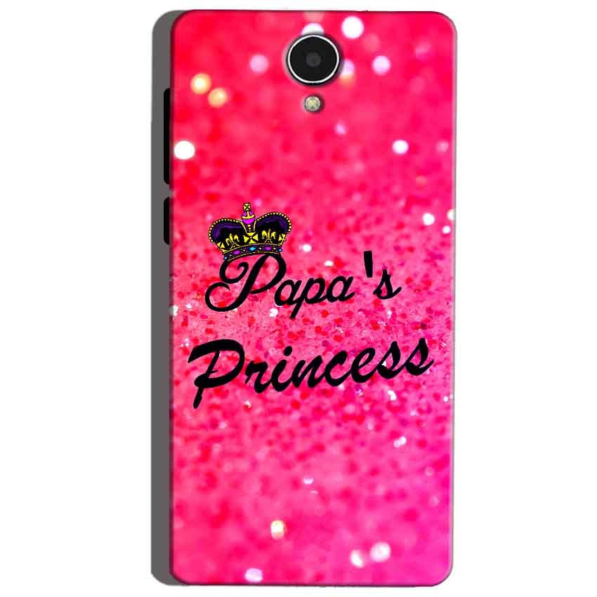 Micromax Canvas Mega 4g Q417 Mobile Covers Cases PAPA PRINCESS - Lowest Price - Paybydaddy.com