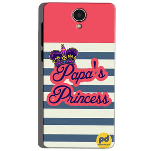 Micromax Canvas Mega 4g Q417 Mobile Covers Cases Papas Princess - Lowest Price - Paybydaddy.com
