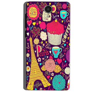 Micromax Canvas Mega 4g Q417 Mobile Covers Cases Paris Sweet love - Lowest Price - Paybydaddy.com