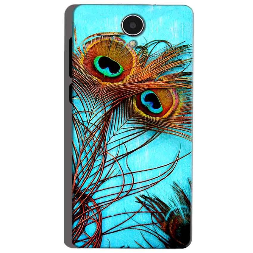 Micromax Canvas Mega 4g Q417 Mobile Covers Cases Peacock blue wings - Lowest Price - Paybydaddy.com