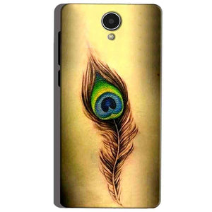 Micromax Canvas Mega 4g Q417 Mobile Covers Cases Peacock coloured art - Lowest Price - Paybydaddy.com