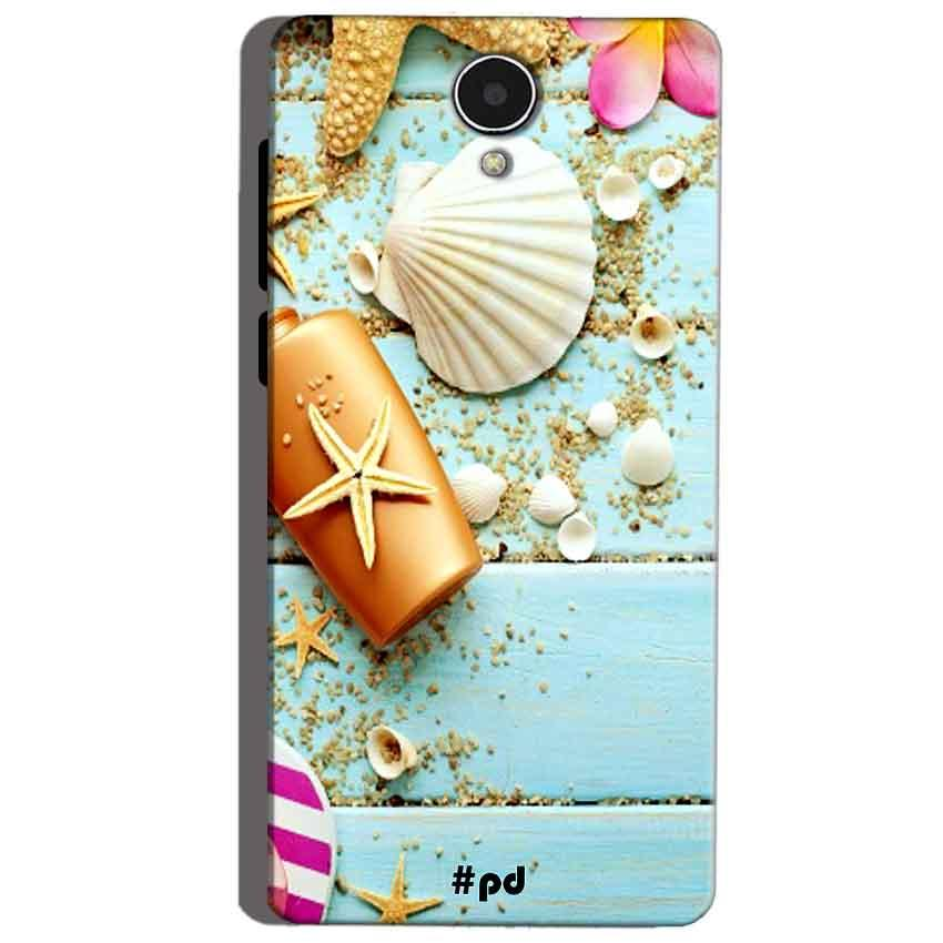 Micromax Canvas Mega 4g Q417 Mobile Covers Cases Pearl Star Fish - Lowest Price - Paybydaddy.com