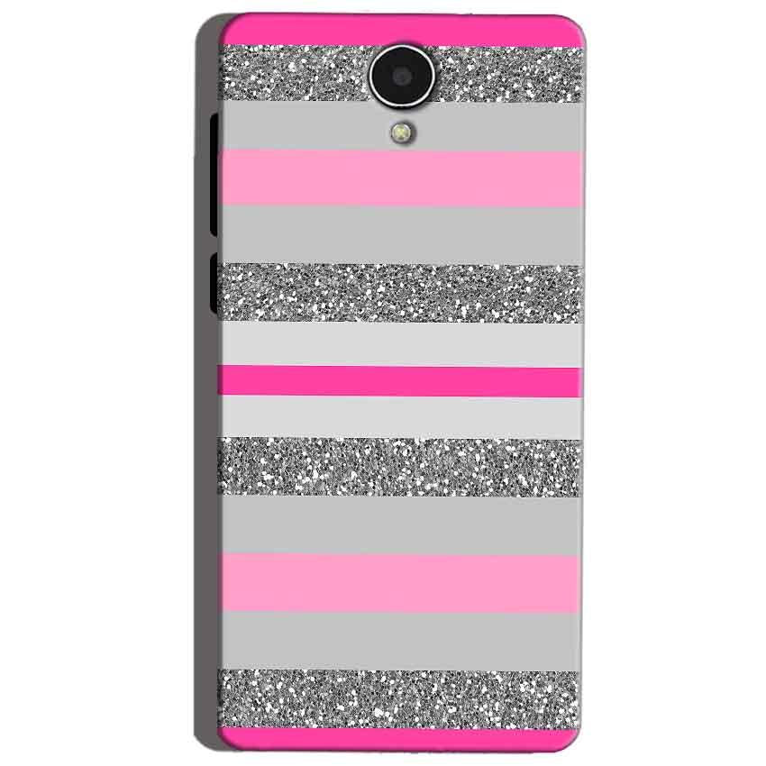 Micromax Canvas Mega 4g Q417 Mobile Covers Cases Pink colour pattern - Lowest Price - Paybydaddy.com