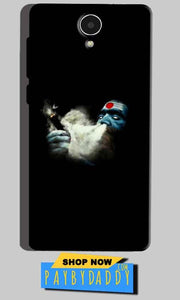 Micromax Canvas Mega 4g Q417 Mobile Covers Cases Shiva Aghori Smoking - Lowest Price - Paybydaddy.com