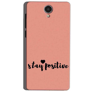 Micromax Canvas Mega 4g Q417 Mobile Covers Cases Stay Positive - Lowest Price - Paybydaddy.com