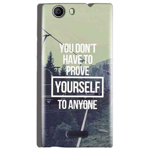 Micromax Canvas Nitro 2 E311 Mobile Covers Cases Donot Prove yourself - Lowest Price - Paybydaddy.com