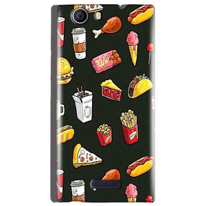 Micromax Canvas Nitro 2 E311 Mobile Covers Cases Foodie Design - Lowest Price - Paybydaddy.com