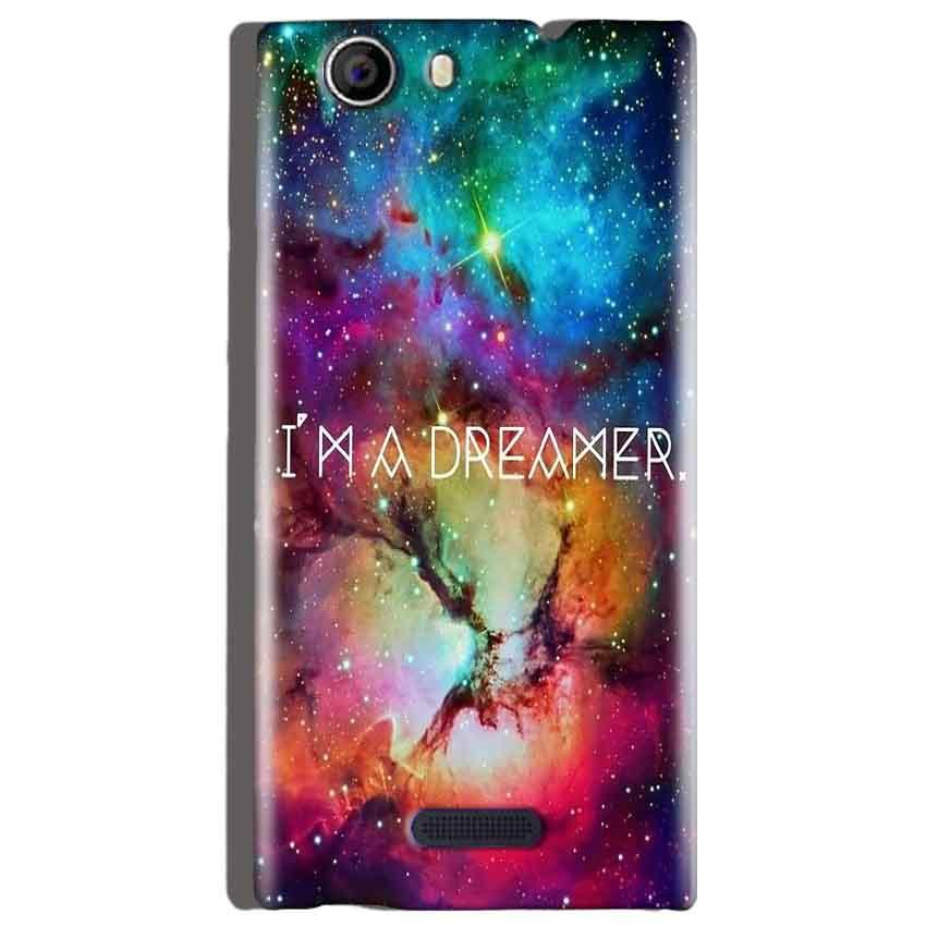 Micromax Canvas Nitro 2 E311 Mobile Covers Cases I am Dreamer - Lowest Price - Paybydaddy.com