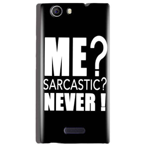 Micromax Canvas Nitro 2 E311 Mobile Covers Cases Me sarcastic - Lowest Price - Paybydaddy.com