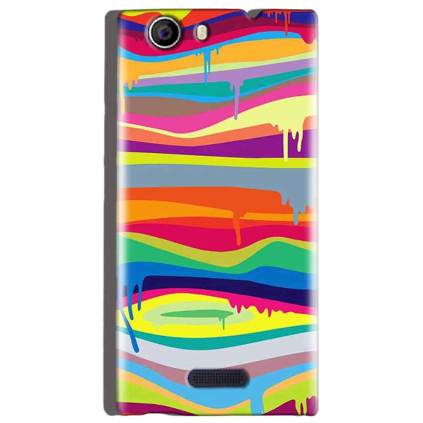 Micromax Canvas Nitro 2 E311 Mobile Covers Cases Melted colours - Lowest Price - Paybydaddy.com