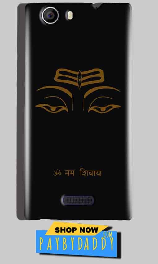Micromax Canvas Nitro 2 E311 Mobile Covers Cases Om Namaha Gold Black - Lowest Price - Paybydaddy.com