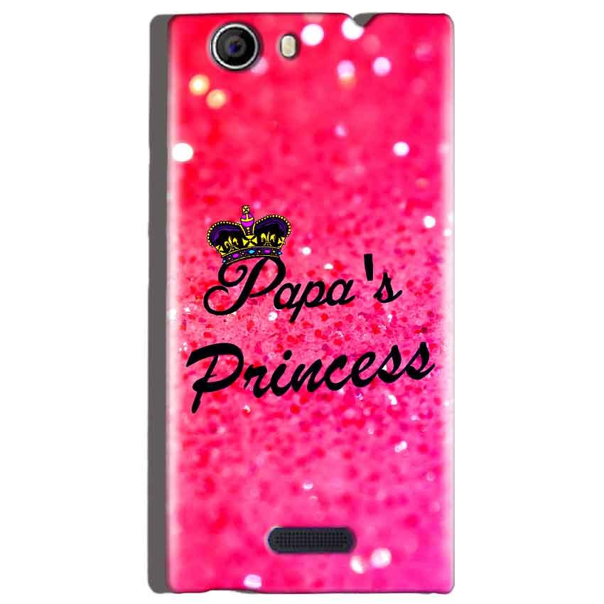 Micromax Canvas Nitro 2 E311 Mobile Covers Cases PAPA PRINCESS - Lowest Price - Paybydaddy.com