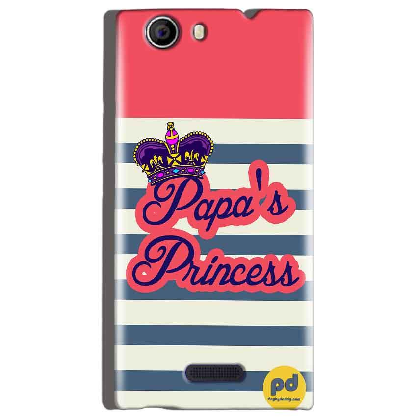 Micromax Canvas Nitro 2 E311 Mobile Covers Cases Papas Princess - Lowest Price - Paybydaddy.com