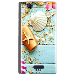 Micromax Canvas Nitro 2 E311 Mobile Covers Cases Pearl Star Fish - Lowest Price - Paybydaddy.com