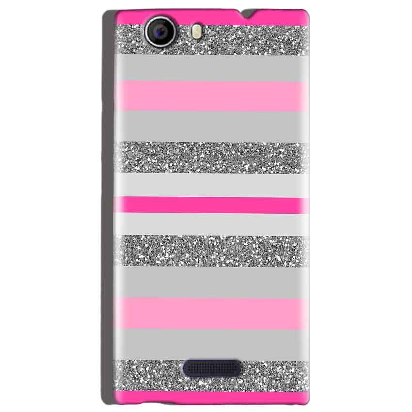 Micromax Canvas Nitro 2 E311 Mobile Covers Cases Pink colour pattern - Lowest Price - Paybydaddy.com