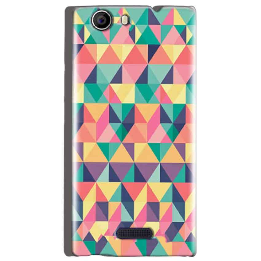 Micromax Canvas Nitro 2 E311 Mobile Covers Cases Prisma coloured design - Lowest Price - Paybydaddy.com