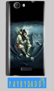 Micromax Canvas Nitro 2 E311 Mobile Covers Cases Shiva Smoking - Lowest Price - Paybydaddy.com