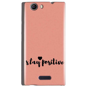 Micromax Canvas Nitro 2 E311 Mobile Covers Cases Stay Positive - Lowest Price - Paybydaddy.com