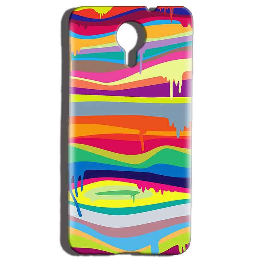 Micromax Canvas Nitro 4g E455 Mobile Covers Cases Melted colours - Lowest Price - Paybydaddy.com